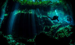 Cenote diving, Yucatan