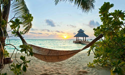 Beach Hammock, Maldives