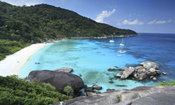 Similan Islands Beach Cove