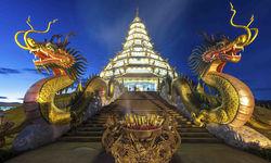 Chiang Rai Wat Staircase, Thailand