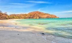 Papagayo sandy beach