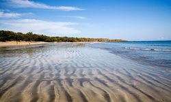Sandy beach on Peninsula Papagayo