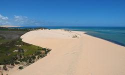 Aerial of Bazaruto Archipelago