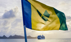 St Vincent and Grenadines Flag