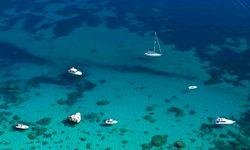 Sardinia aerial view