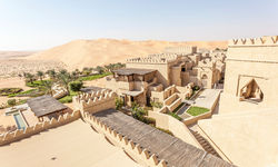 Resort in the Empty Quarter