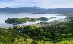 View across Savusavu Marina, Vanua Levu