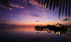 Sunset at Mabul Island