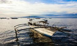 Dive Boat in Sabang, Puerto Galera