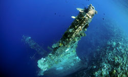 wreck diving Solomon Islands