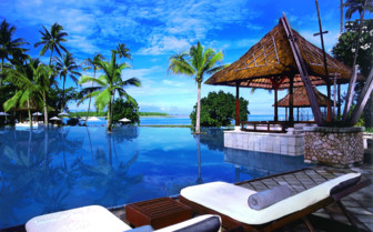 Picture of the Poolside at The Oberoi, Lombok