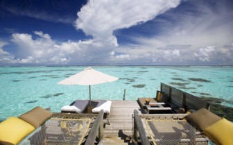 Picture of the Ocean Deck at Gili Lankanfushi