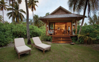 Picture of the beach retreat garden, Desroches Island Resort
