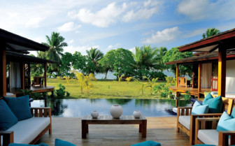 Picture of a beach villa, Desroches Island Resort