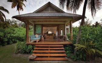 Picture of a beach retreat, Desroches Island Resort