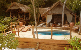 Picture of beach suite with pool at Fundu Lagoon