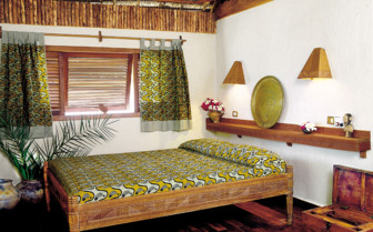 Picture of bedroom at Pole Pole, luxury hotel in Africa