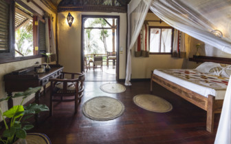 Picture of bedroom with terrace at Pole Pole Hotel, Tanzania