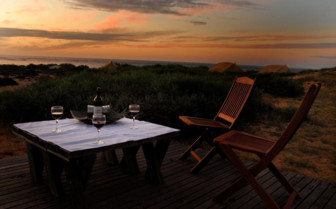 Picture of sundowner at Sal Salis, Ningaloo Reef