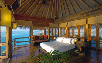 Picture of the Bedroom in the Private Reserve at Gili Lankanfushi