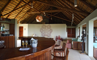 Bar at Coral Lodge, Mozambique