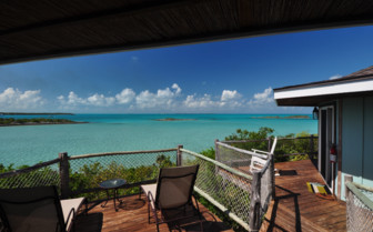 Picture of the view from a villa at Fowl Cay