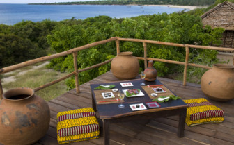 Picture of sushi at the beach bar at Nuarro Luxury Eco Lodge