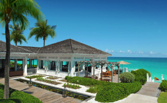 Picture of oceanfront dining at One & Only Ocean Club