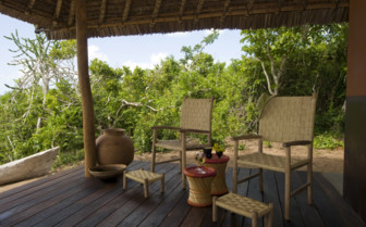 Picture of a chalet terrace at Nuarro Luxury Eco Lodge