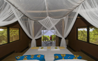 Picture of a chalet interior at Nuarro Luxury Eco Lodge