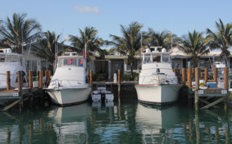Picture of the boats at Old Bahama Bay Resort