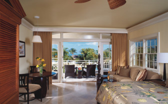 Picture of the junior suite at Old Bahama Bay Resort