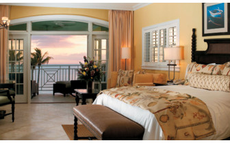 Picture of a junior suite at Old Bahama Bay Resort