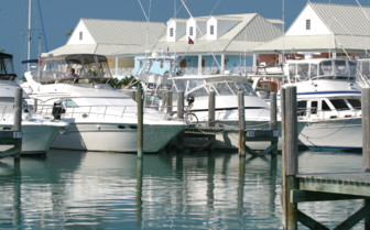 Picture of the marina at Old Bahama Bay