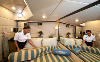 Picture of a double cabin on Turks and Caicos Aggressor II