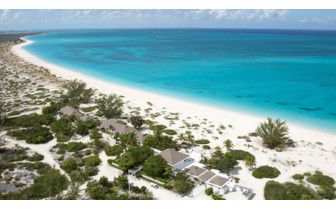 Picture of the view of the Meridian Club Pine Cay