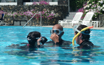 Picture of snorkelling at Hotel Caloura