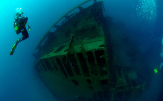 Picture of wreck diving at Hotel Caloura