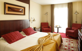 Picture of a Bedroom at Hotel do Canal