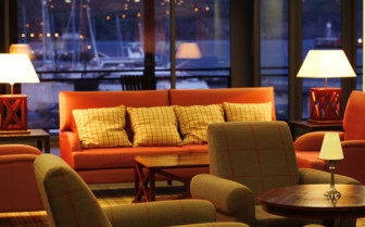 Picture of the lounge at Hotel do Canal