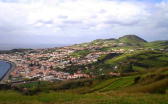 Picture of Horta Harbour, Pousada da Horta