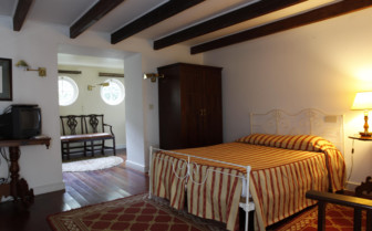 Picture of a bedroom at Quinta das Bouganvilias