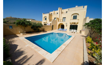 Picture of a private Gozo farmhouse with pool