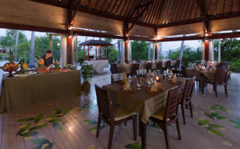 Picture of the Restaurant at Wakatobi Dive Resort