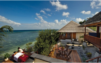Picture of the Spa Villa at Wakatobi Dive Resort