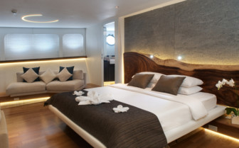 Picture of the Master Suite onboard the Pelagian