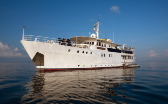 Picture of the Pelagian Dive Yacht
