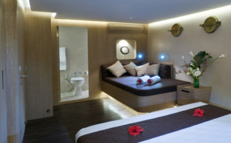 Picture of the Superlux Cabin onboard the Pelagian