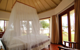 Picture of Villa bedroom at Kura Kura Resort