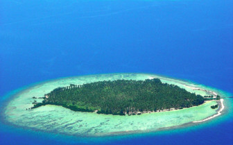 Aerial picture of Kura Kura Resort